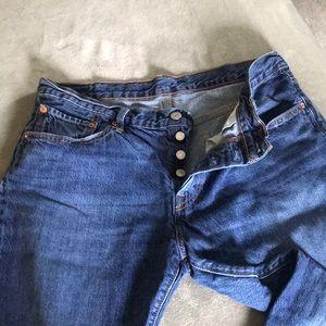 501 ct crop boyfriend jeans